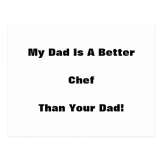 My Dad Is A Better ... Than Your Dad! Postcard