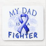 My Dad Is A Fighter Blue Mouse Pad