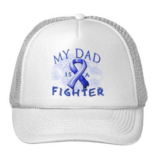 My Dad Is A Fighter Blue Trucker Hat