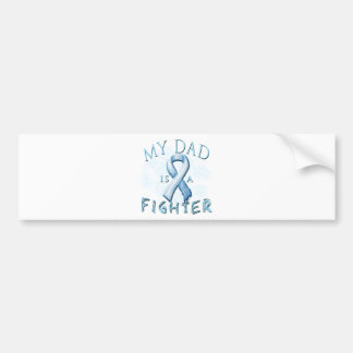My Dad is a Fighter Light Blue Bumper Stickers