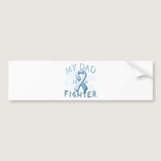 My Dad is a Fighter Light Blue Bumper Sticker