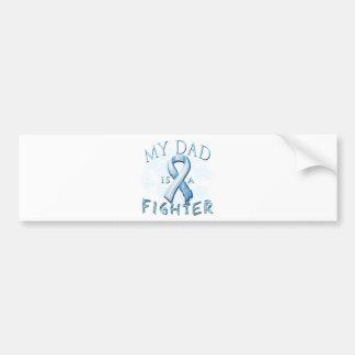 My Dad is a Fighter Light Blue Car Bumper Sticker