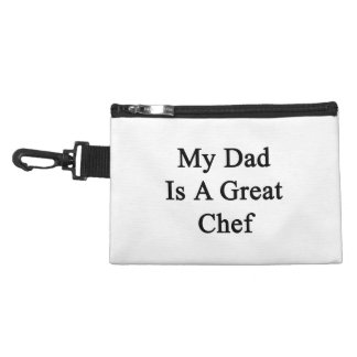 My Dad Is A Great Chef Accessory Bags