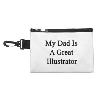 My Dad Is A Great Illustrator Accessories Bag