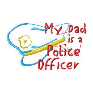 My Dad Is A Police Officer Polo