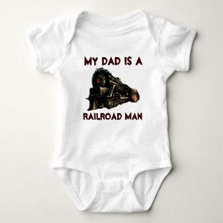 My Dad Is A Railroad Man Tees