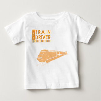 My Dad is a Train Driver Baby T-Shirt