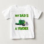 My Dad Is A Trucker Tee Shirt