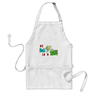 My DAD is a ZOMBIE Adult Apron