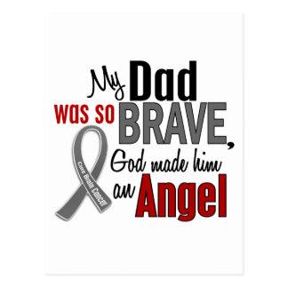 My Dad Is An Angel 1 Brain Cancer Postcard