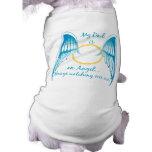 My Dad is an Angel Dog Tee Shirt