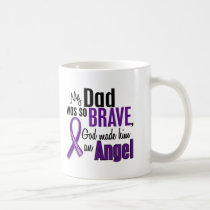 My Dad Is An Angel Pancreatic Cancer Coffee Mug