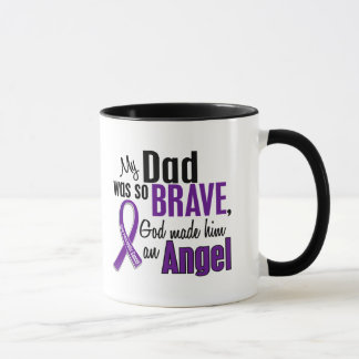 My Dad Is An Angel Pancreatic Cancer Mug