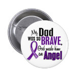 My Dad Is An Angel Pancreatic Cancer Pins