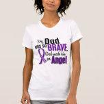 My Dad Is An Angel Pancreatic Cancer Tees
