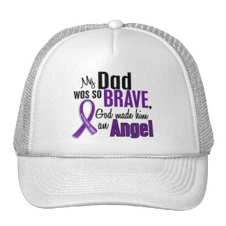 My Dad Is An Angel Pancreatic Cancer Trucker Hat