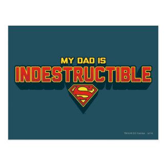 My Dad is Indestructible Postcard