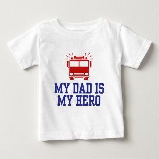 My Dad Is My Hero Baby T-Shirt