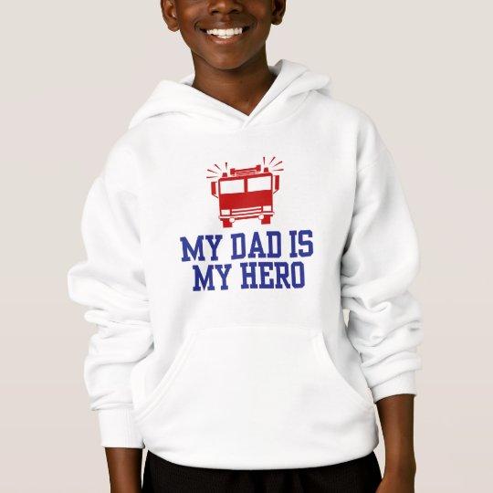 My Dad Is My Hero Hoodie