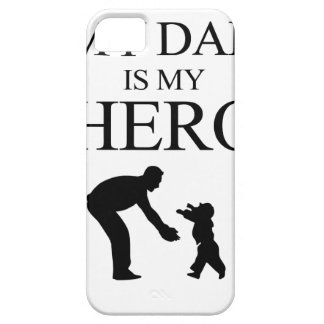 My Dad Is My Hero iPhone SE/5/5s Case
