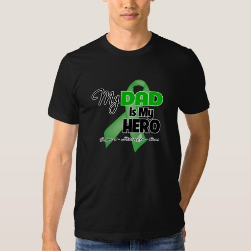 My Dad is My Hero - Kidney Cancer T Shirt