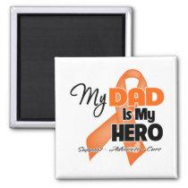 My Dad is My Hero - Leukemia Magnet