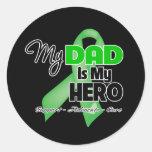 My Dad is My Hero - SCT BMT Round Sticker
