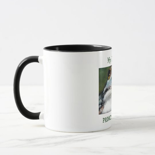 My Dad Is My Prince Charming: Cute Frog in Pastel Mug