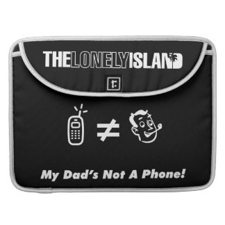 My Dad is Not a Phone MacBook Pro Sleeve