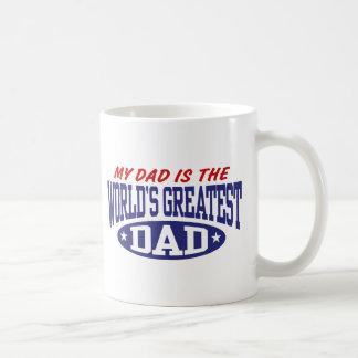 My Dad Is The World's Greatest Dad Coffee Mug