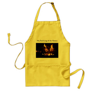 My Dad King of the Flames - Apron