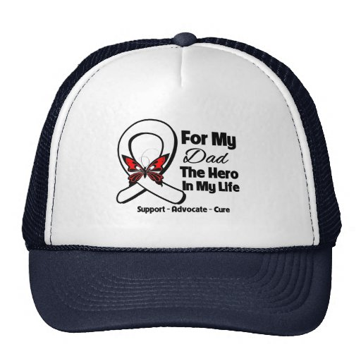 My Dad - Lung Cancer Awareness Mesh Hats