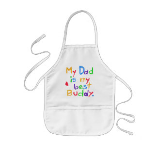 My Dad My Best Buddy T-shirts and Gifts Kids' Apron
