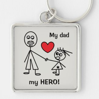 Cute Keychain for Dad