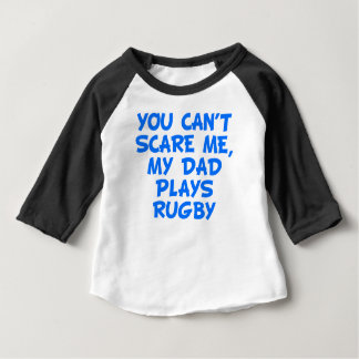 My Dad Plays Rugby Baby T-Shirt