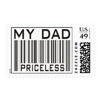 My Dad Priceless Stamp