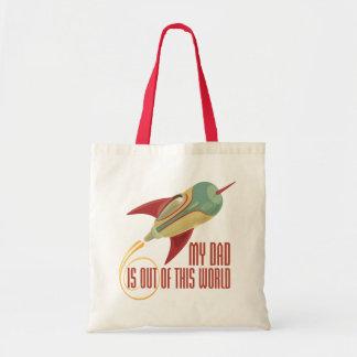 My Dad Rocket Tote Bag