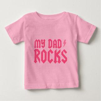 My Dad Rocks Baby T-Shirt