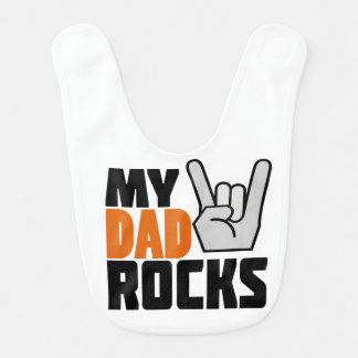My Dad Rocks! Bib