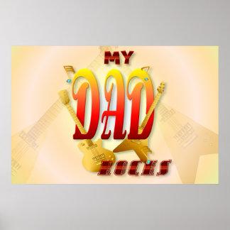 My Dad Rocks! big Poster
