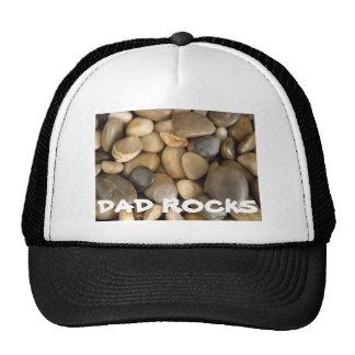 My Dad Rocks cap Trucker Hat