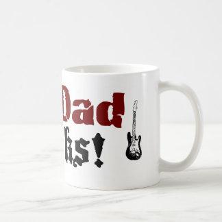My Dad Rocks Coffee Mug
