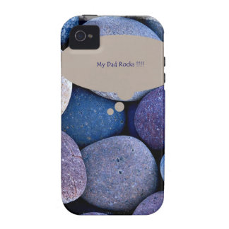 My Dad Rocks Father's Day Gifts Vibe iPhone 4 Case