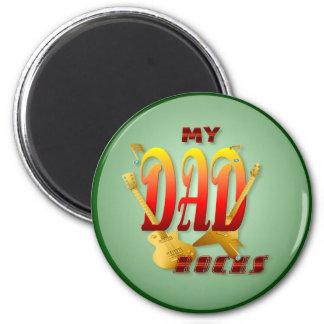 My Dad Rocks! Magnets