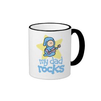 My Dad Rocks Coffee Mugs