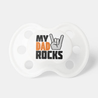 My Dad Rocks! Pacifier