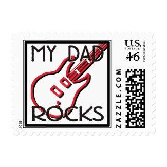 My Dad Rocks stamp
