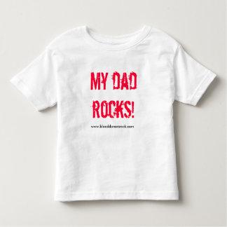 MY DAD ROCKS! TEE SHIRT