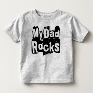 My Dad Rocks Toddler T-shirt