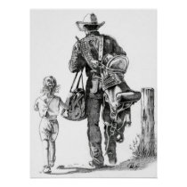 My Dad´s a Cowboy Poster